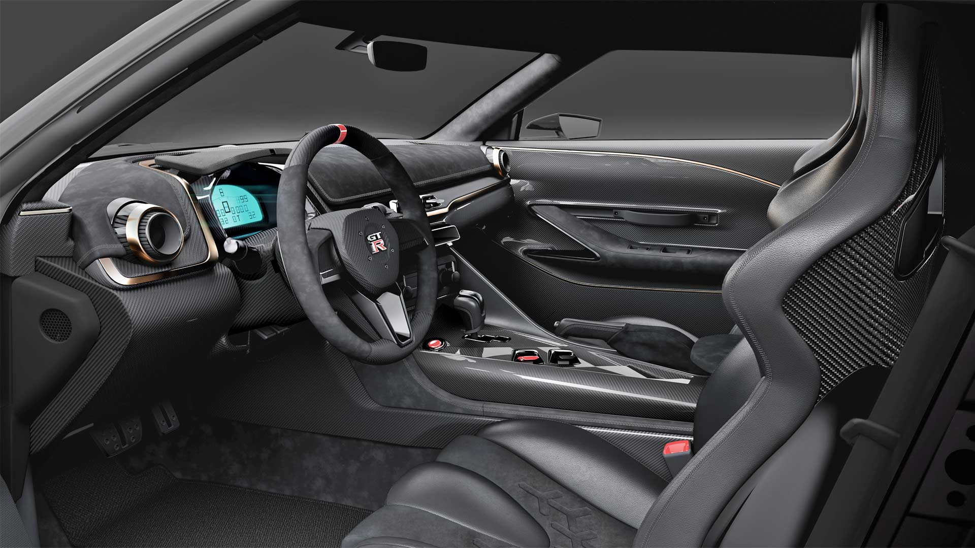 Nissan-GT-R50-by-Italdesign-Interior