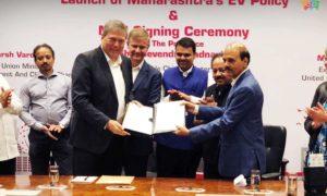 Tata Motors MoU Government of Maharashtra EV