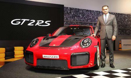2018 Porsche 911 GT2 RS India launch