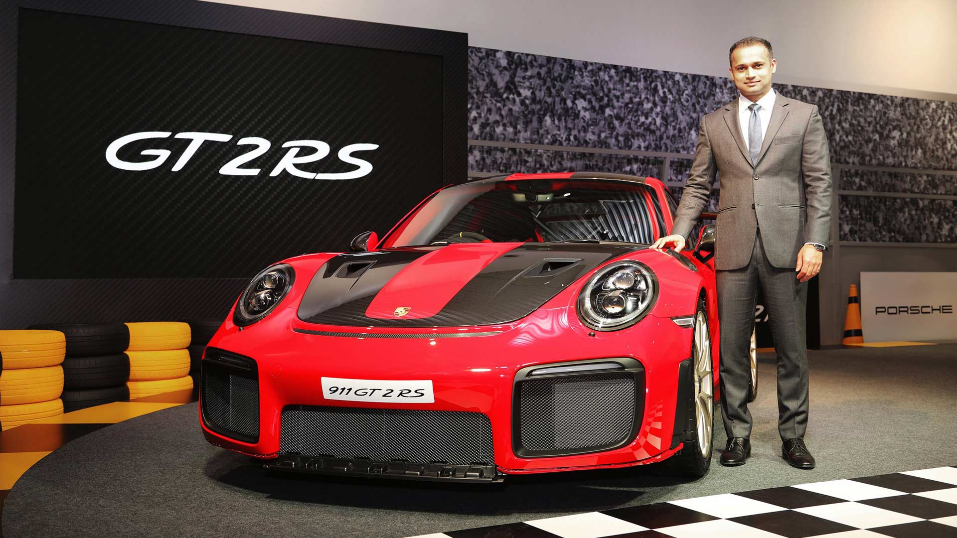 2018 Porsche 911 GT2 RS India launch