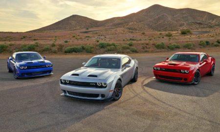 2019 Dodge Challenger Lineup SRT Hellcat Widebody, SRT Hellcat Redeye Widebody, RT Scat Pack Widebody