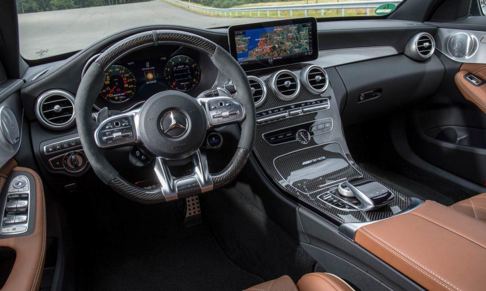 2019-Mercedes-AMG-C-63-S-Estate-interior designo iridium silver magno nappa leather saddle brownblack
