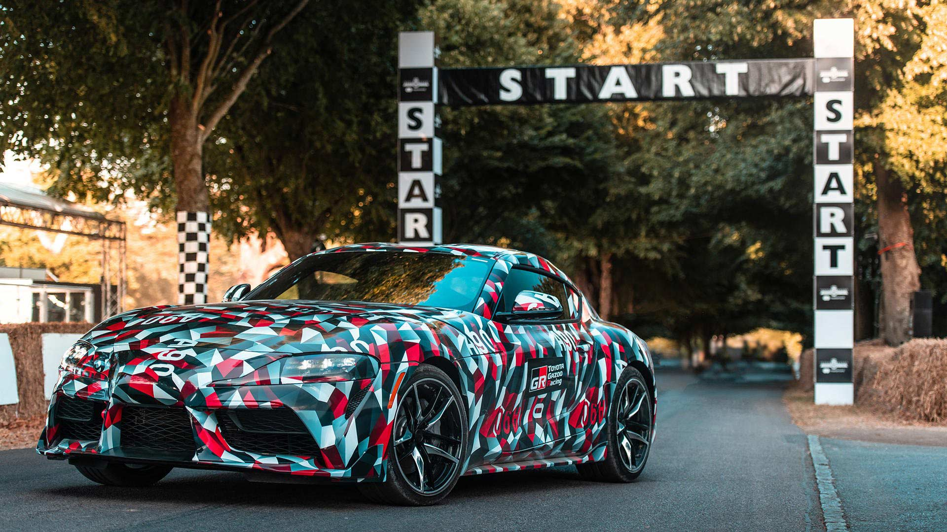 2020 Toyota Supra Makes Camouflaged Debut At Goodwood Fos