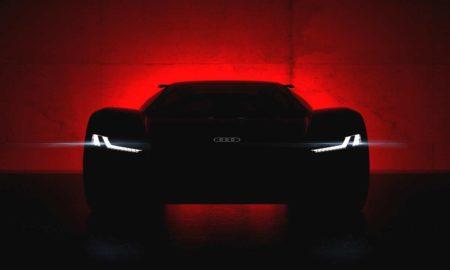 Audi PB 18 e-tron concept teaser