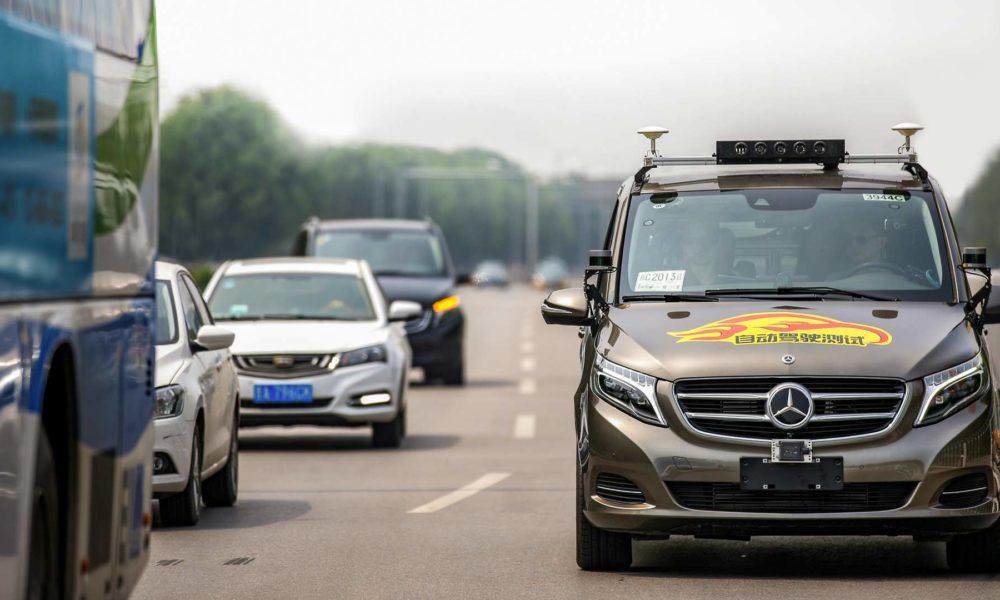 Daimler Level 4 Autonomous driving Beijing