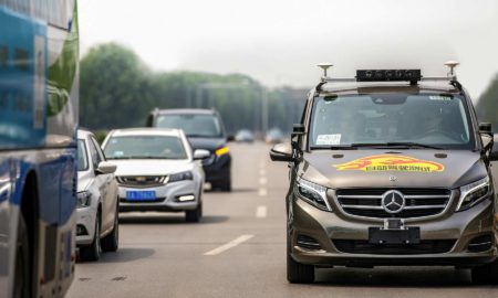 Daimler Level 4 Autonomous driving Beijing