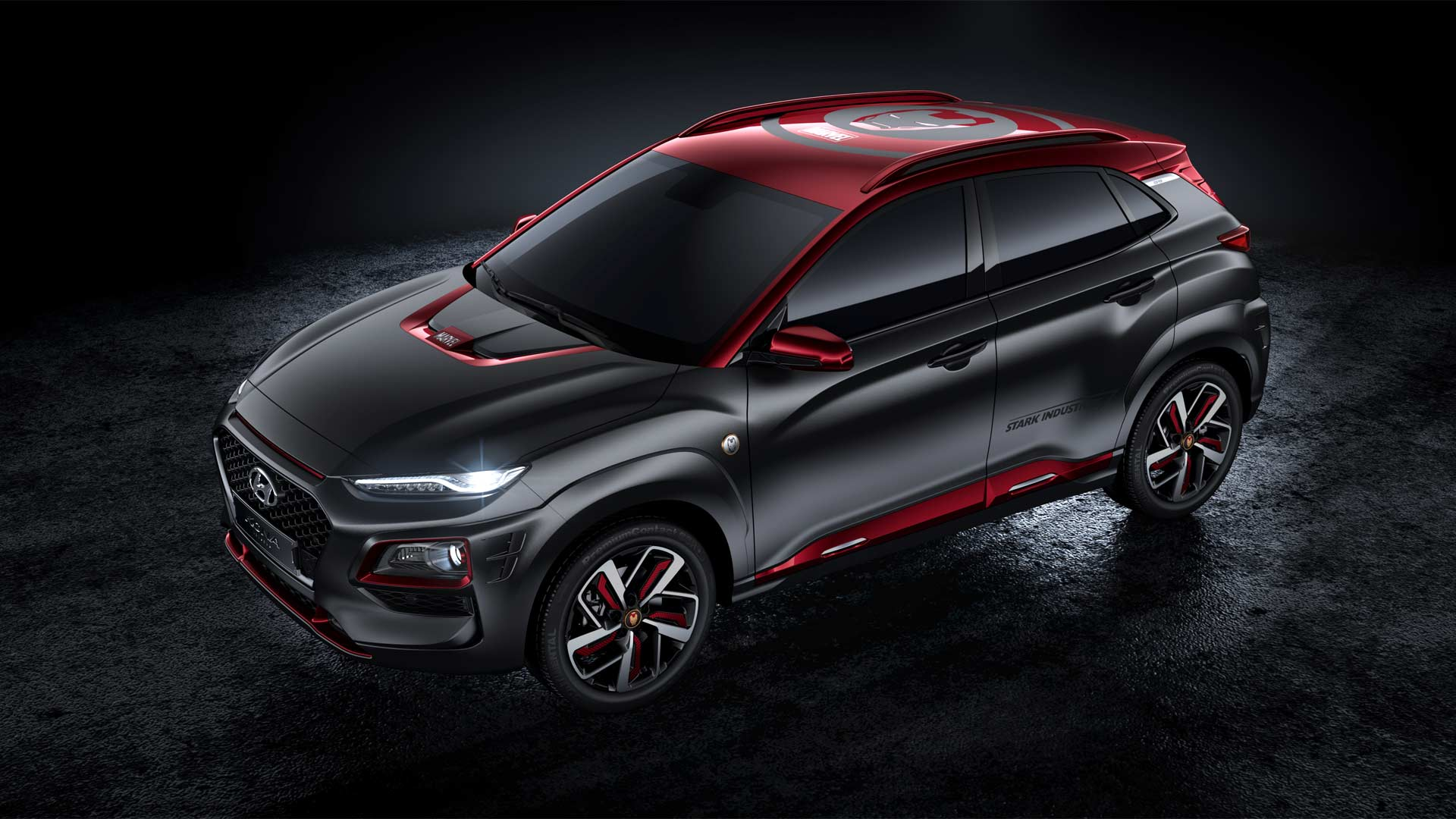 hyundai kona iron man edition production begins in december autodevot. Black Bedroom Furniture Sets. Home Design Ideas