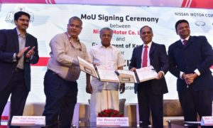 Nissan India Digital Hub MoU Kerala