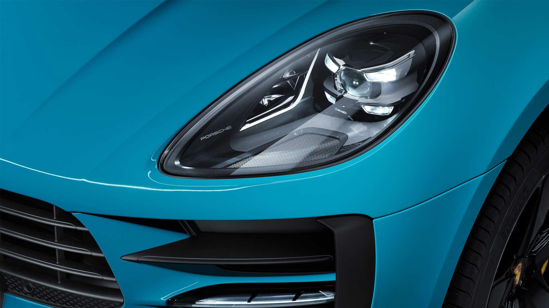 Second-Generation-2019-Porsche-Macan-headlight