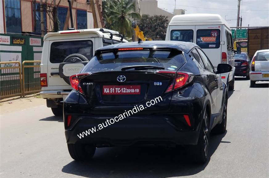 Toyota-C-HR-spotted-testing-Bengaluru
