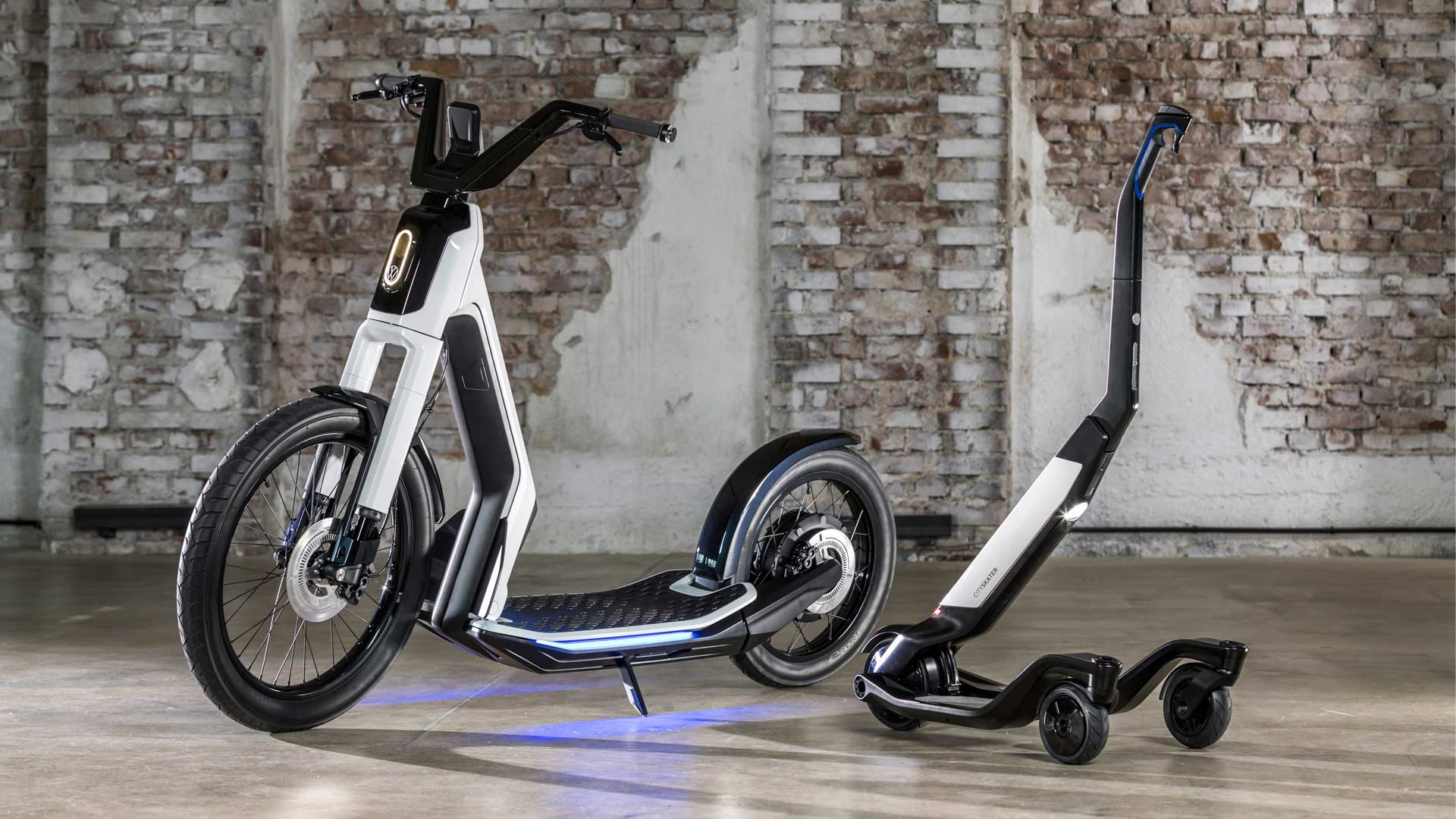 Volkswagen I.D. Streetmate and I.D. Cityskater electric scooters
