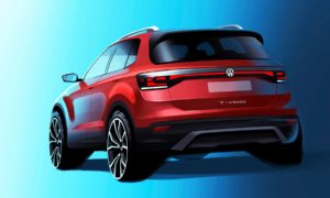Volkswagen-T-Cross-SUV-sketch