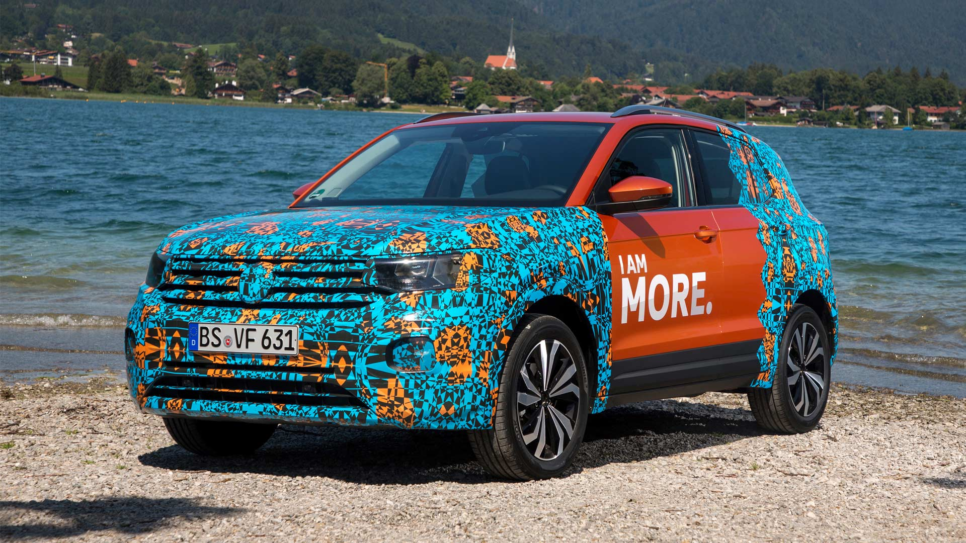 Volkswagen-T-Cross-camouflaged-prototype