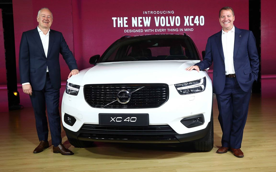 Volvo XC40 R-Design launch India