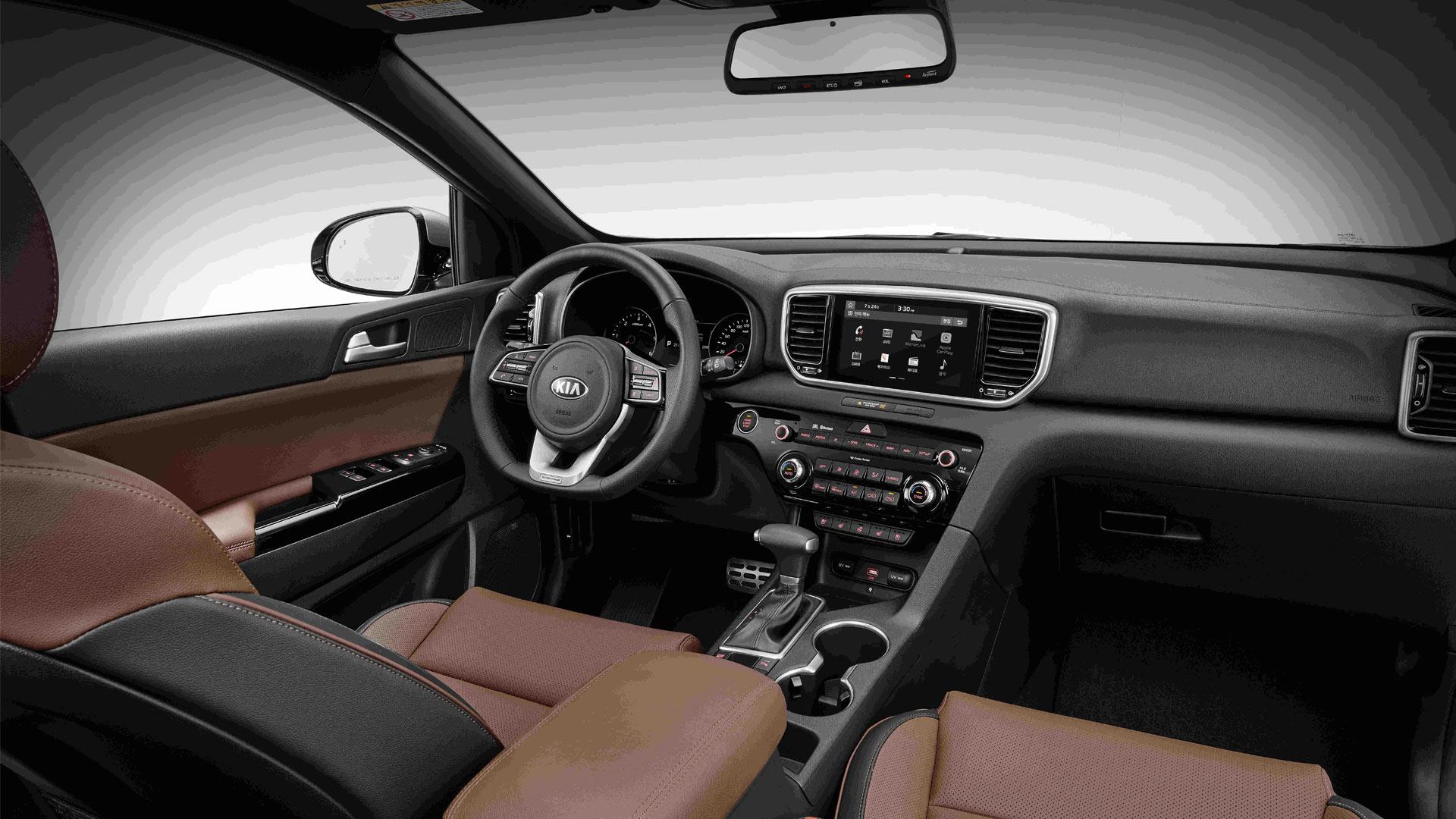 2018-Kia-Sportage-facelift-interior