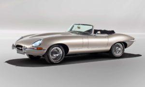2020 Jaguar E-Type Zero Classic electric