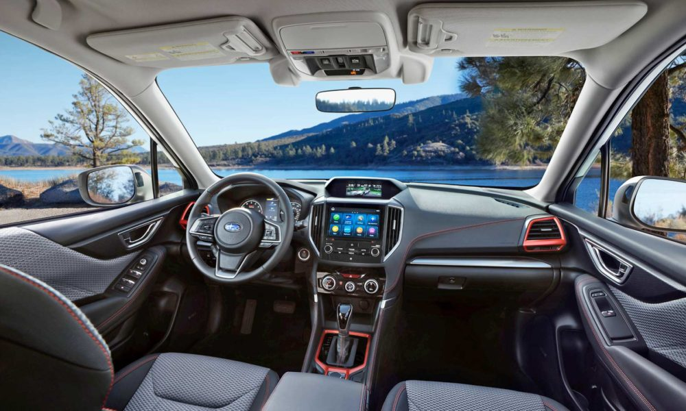 5th-generation-2019-Subaru-Forester-Sport-interior