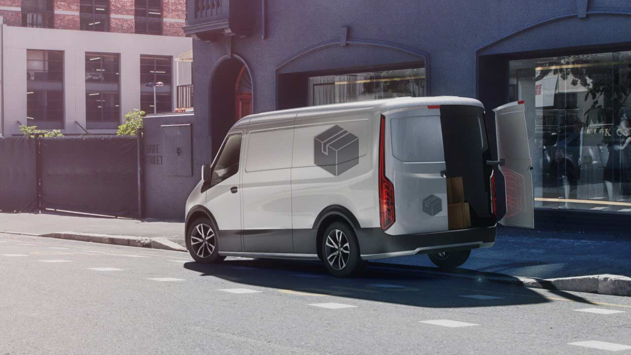 Bosch electric powertrains for commercial vehicles and delivery vans