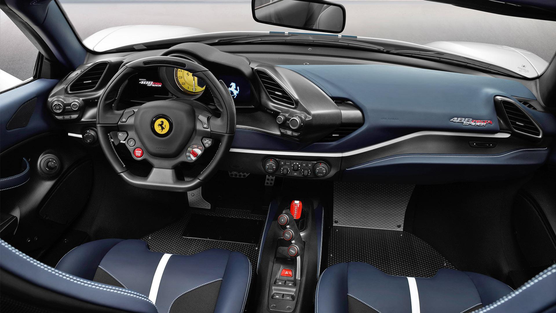 Ferrari 488 Pista Spider Drops Top At Pebble Beach Autodevot