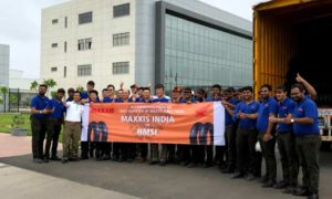 Maxxis-Tyres-India-rolls-out-first-consignment-for-Honda-Motorcycle-&-Scooter-India-from-its-Sanand-plant