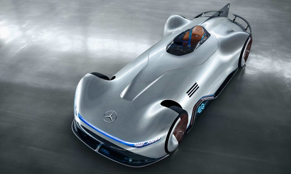 mercedes benz vision eq silver arrow pays homage to w 125