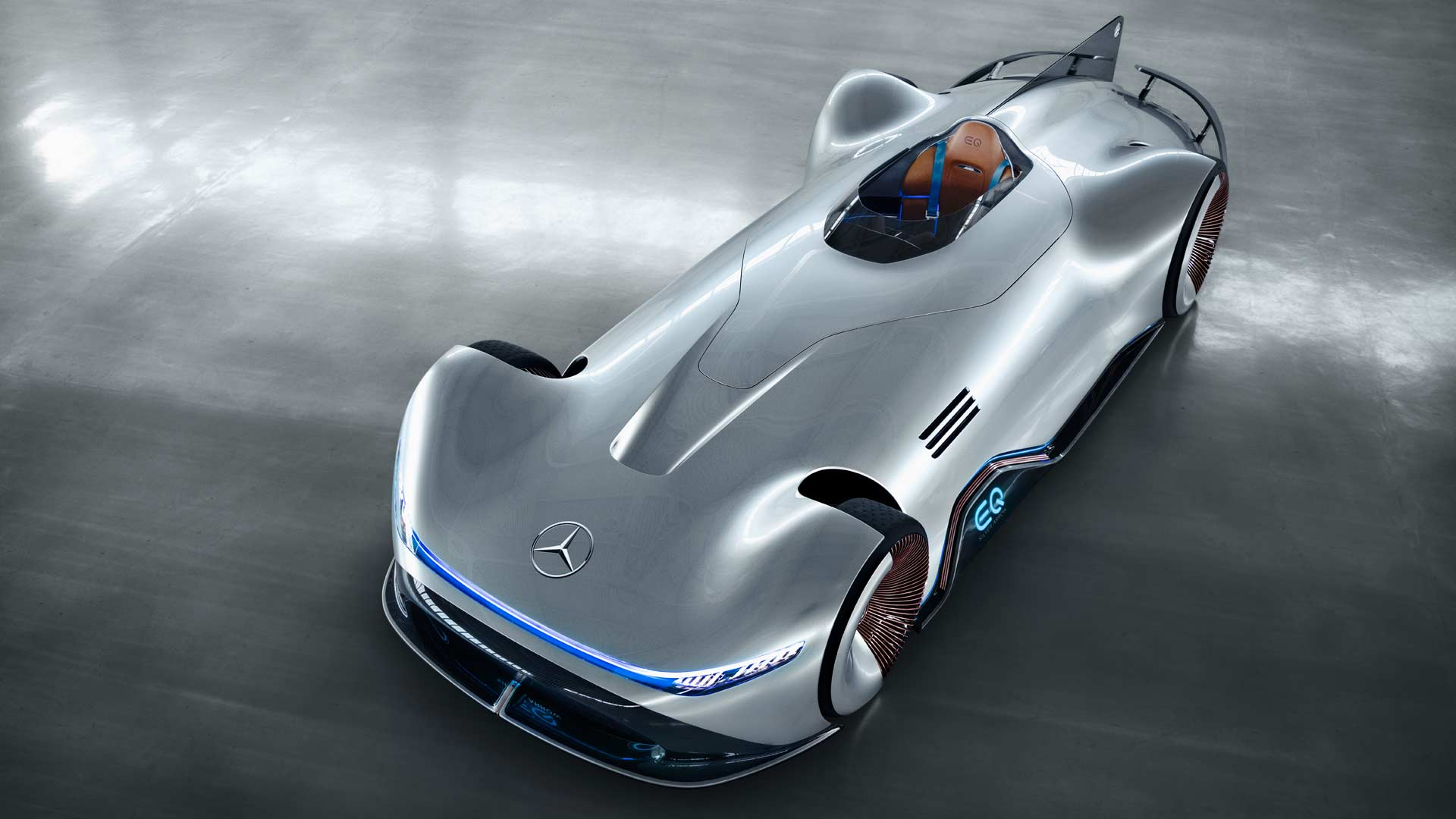 Mercedes Benz Vision Eq Silver Arrow Pays Homage To W 125 Of 1938 Autodevot