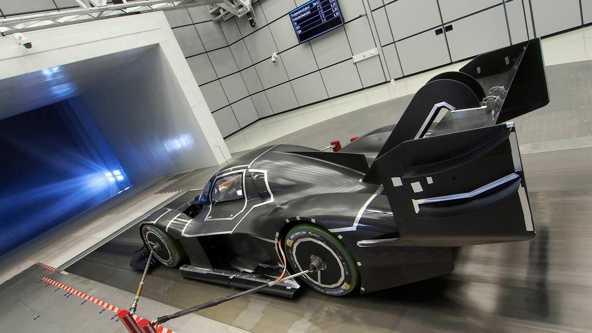 Volkswagen-I.D.-R-Pikes-Peak-wind-tunnel-testing