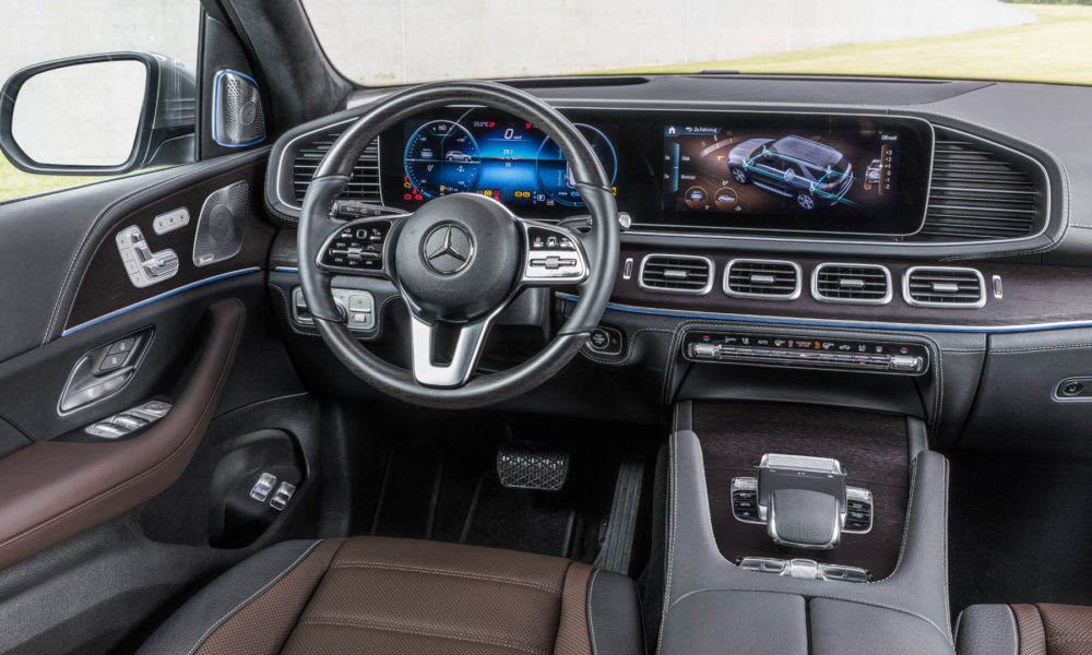 4th-generation-2019-Mercedes-Benz-GLE-interior