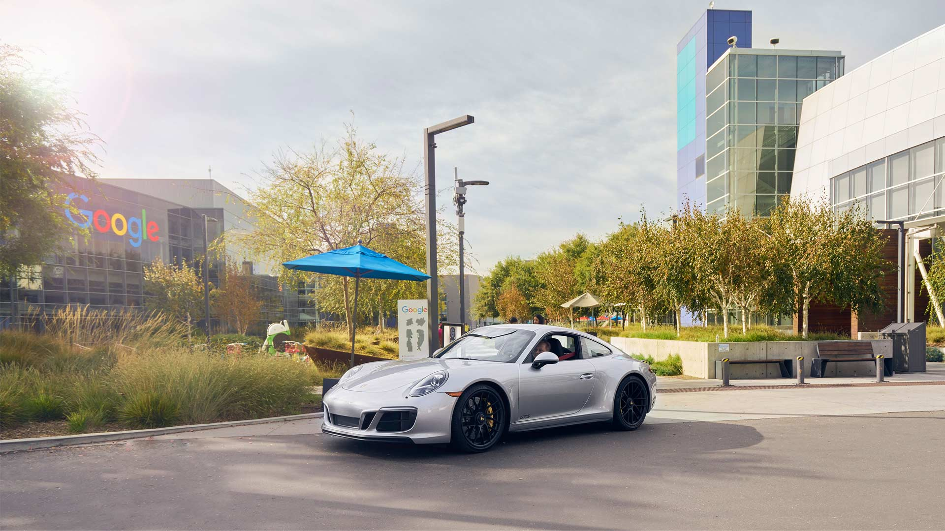 911 Carrera 4 GT at Googleplex, Silicon Valley, Porsche-Turo-peer-to-peer-car-sharing