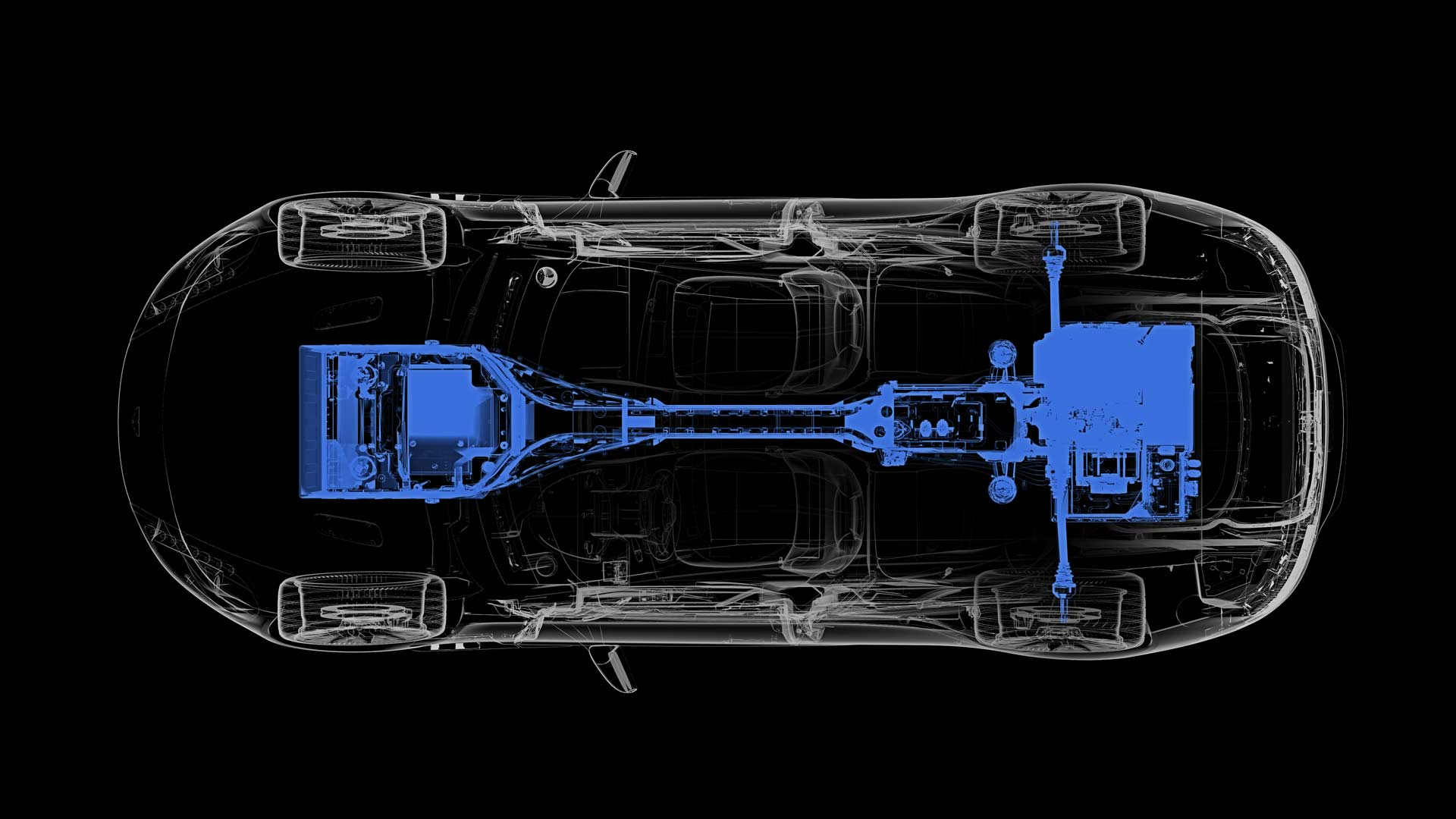 Aston Martin Rapide E electric vehicle powertrain