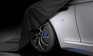 Aston Martin Rapide E electric vehicle teaser