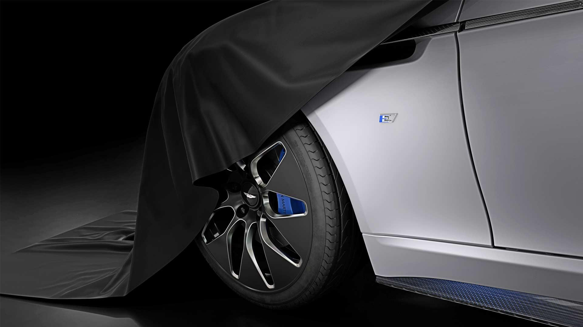 Aston Martin Rapide E electric vehicle teaser