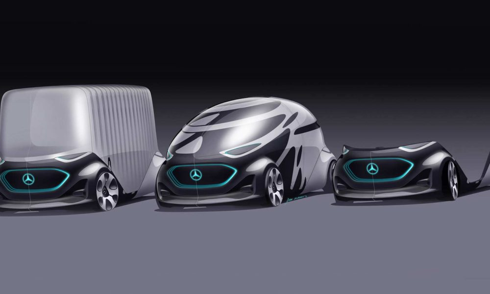 Mercedes-Benz Vans Vision URBANETIC-two interchangeable modules