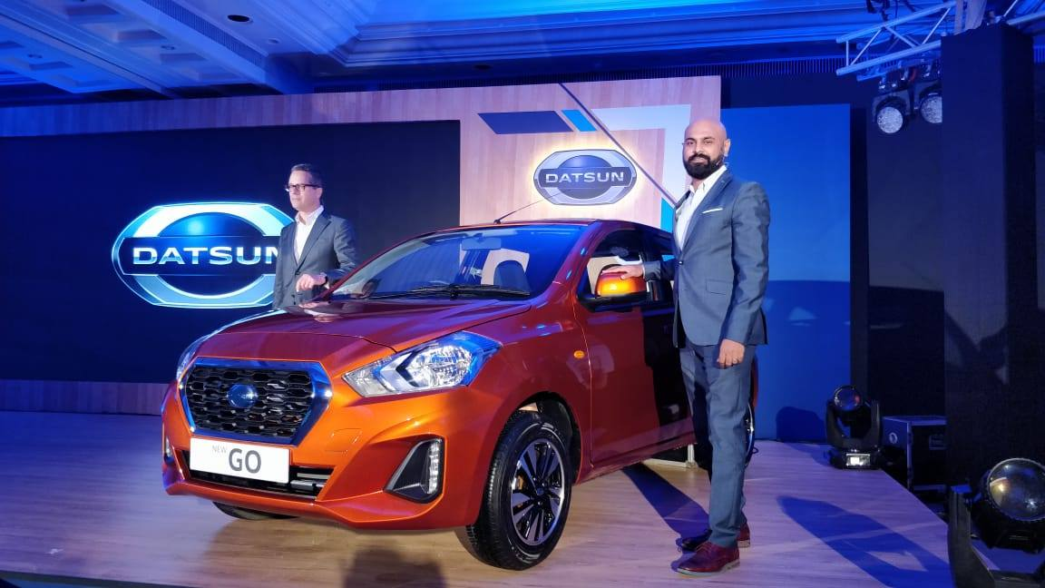 2018 Datsun Go and Go+ facelift launch
