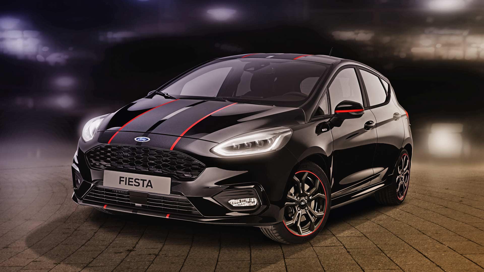 2018 Ford Fiesta ST-Line Black Edition