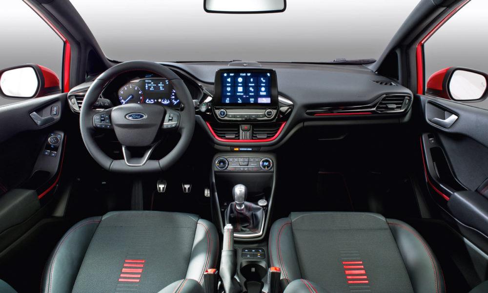 2018 Ford Fiesta ST-Line Red Black Edition Interior