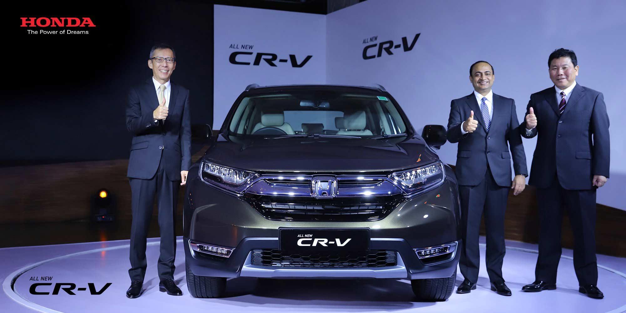 2018-5th-generation-Honda-CR-V-India-launch