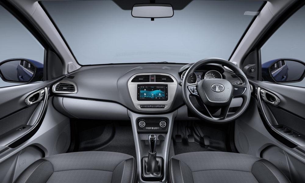 2018-Tata-Tigor-facelift-Interior