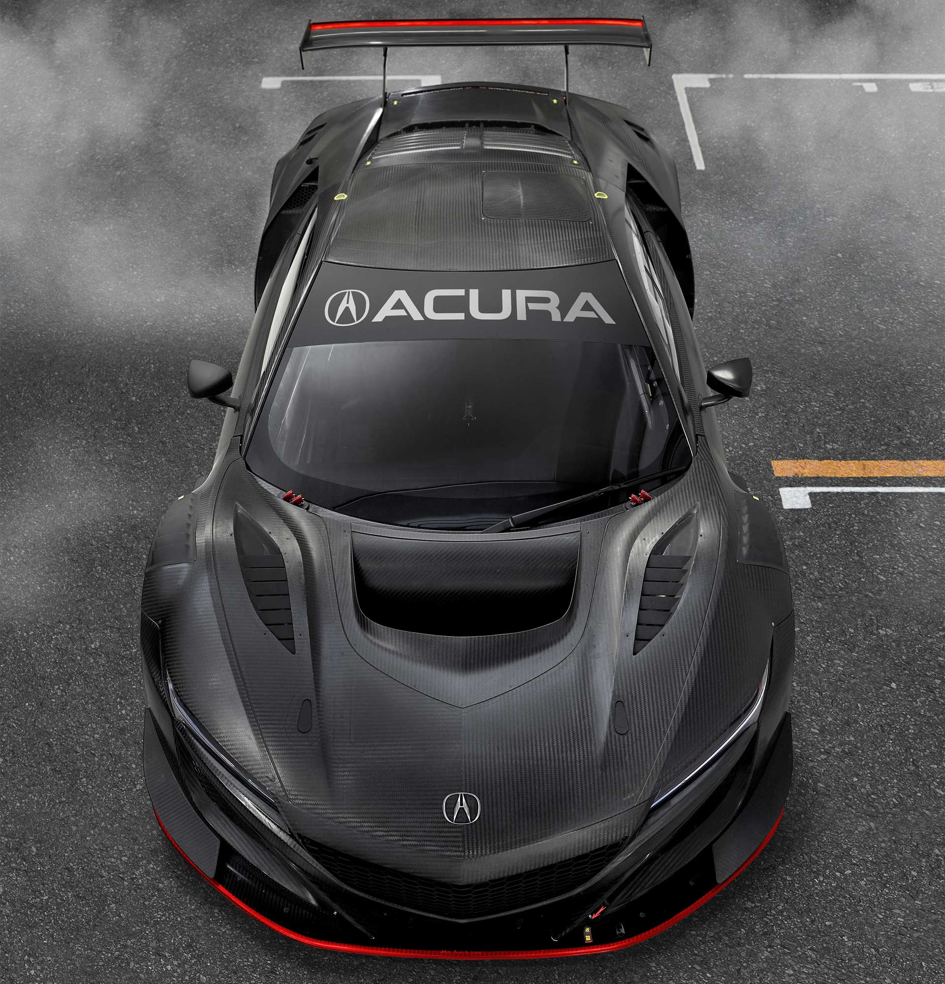 2019 Acura NSX GT3 Evo Is Ready For Race Tracks