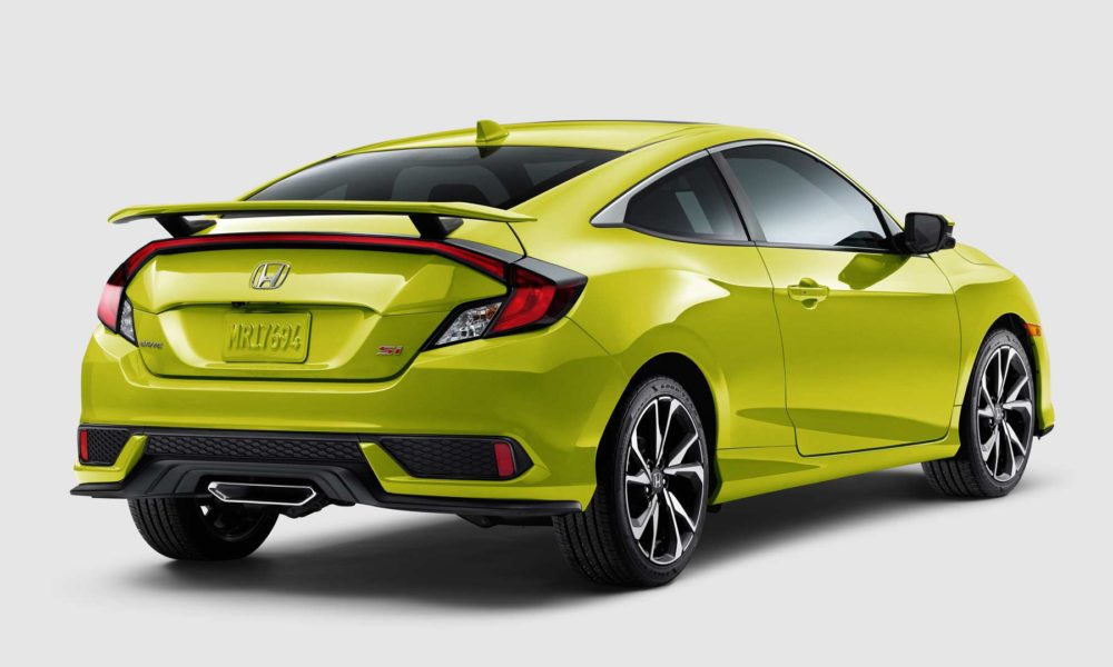 2019-Honda-Civic-Si-Coupe Tonic Yellow Pearl