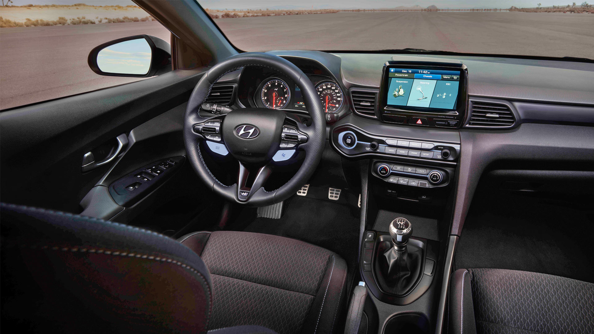 2019-Hyundai-Veloster-N-Interior