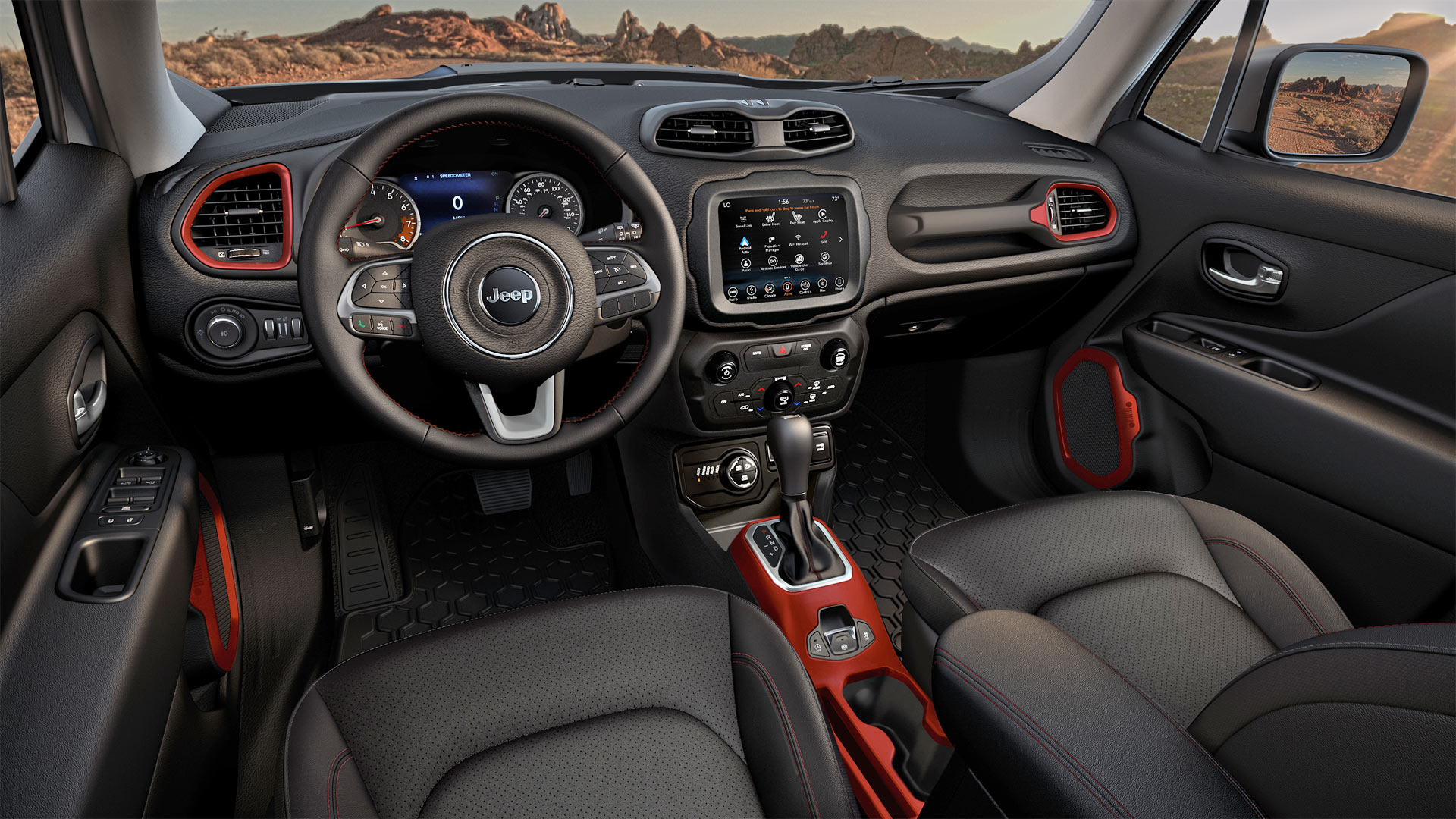 Jeep renegade gets a new engine for 2019 model year - Jeep renegade trailhawk interior ...