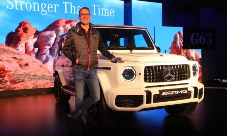2019 Mercedes-AMG G 63 India launch