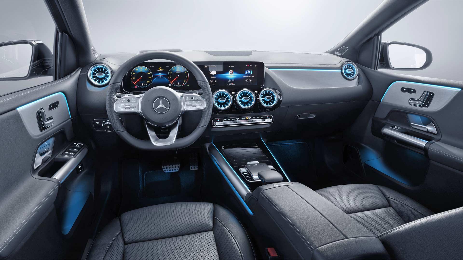 3rd-generation-2019-Mercedes-Benz-B-Class-Interior
