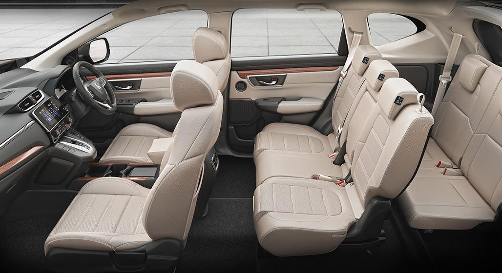5th-generation-Honda-CR-V-India-Interior