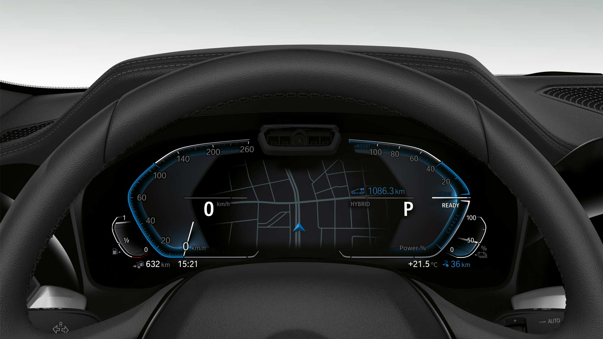 7th-generation-2019-BMW-3-Series-330e-Interior-Instrument-Cluster