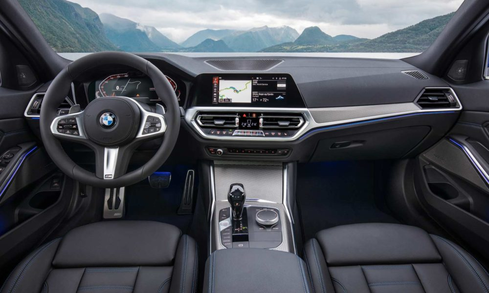 7th-generation-2019-BMW-3-Series-M-Sport-Interior