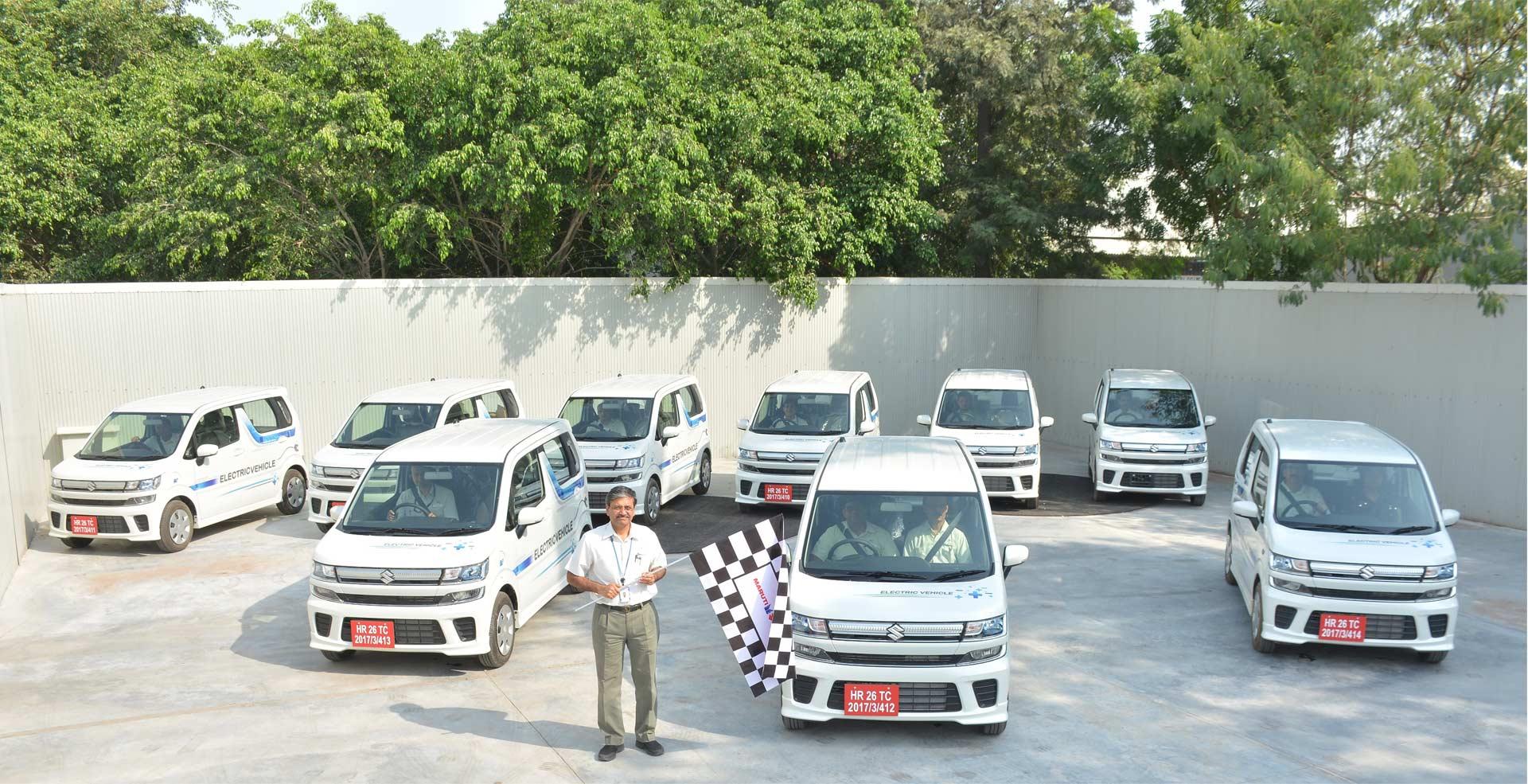 Maruti Suzuki flags-off Electric Vehicles for field testing_2