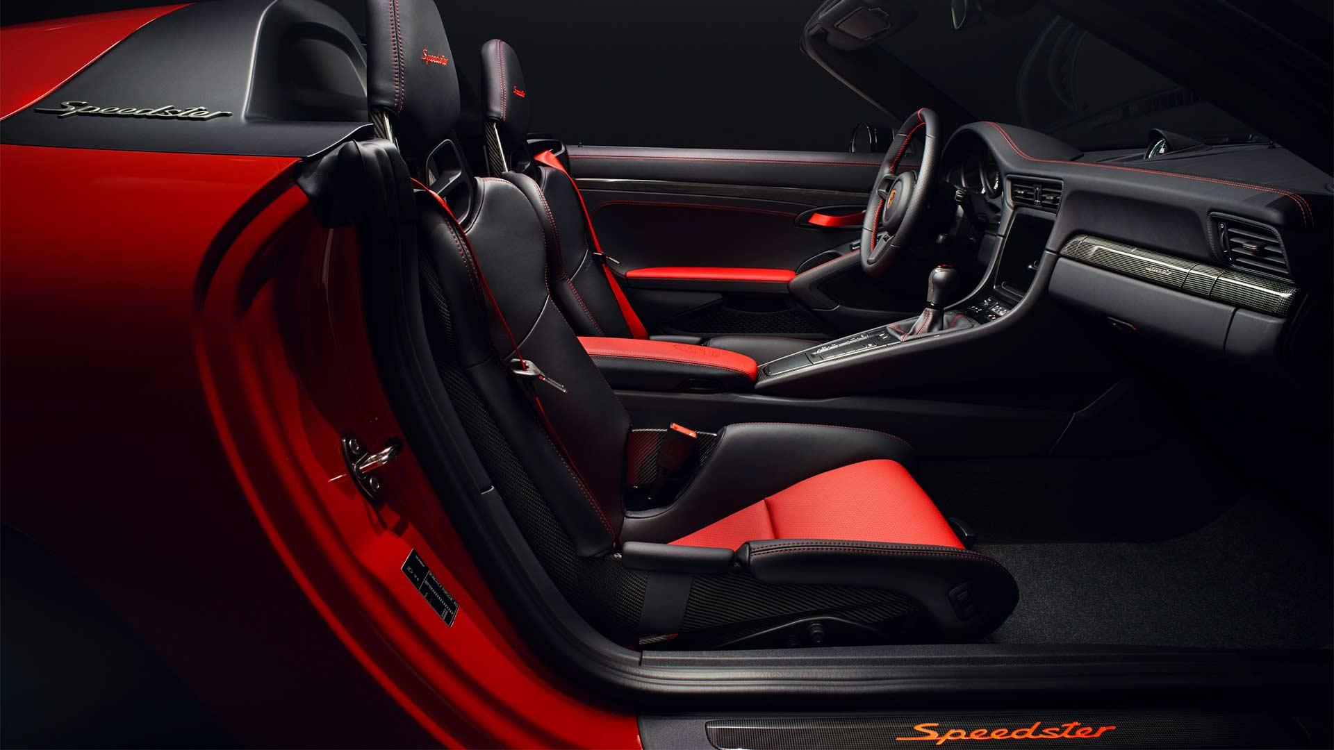 Porsche-911-Speedster-production-Interior