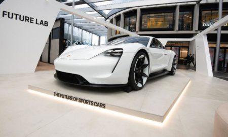 Porsche Mission E concept Taycan Future Lab Sydney Australia